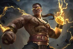 The Lightning Fist 4k