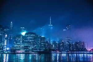 The Lights Of New York Wallpaper