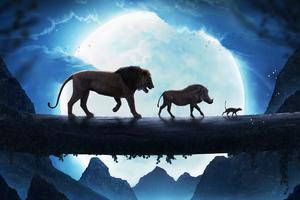 The Lion King Simba Pumbaa Timon Wallpaper