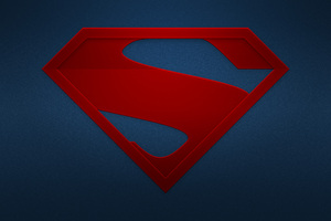 The Man Of Steel Logo