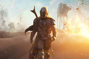 The Mandalorian 4k Artwork 2020 Wallpaper