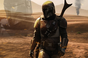 The Mandalorian 4k Tv Show Wallpaper