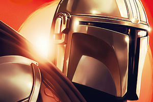 The Mandalorian Star Wars Art Wallpaper