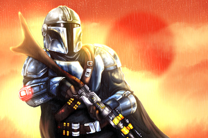 The Mandalorian Star Wars Wallpaper