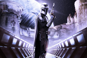 The Mandalorian Star Wars Fanart 4k