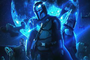 The Mandalorian Star Wars Season 3 Wallpaper