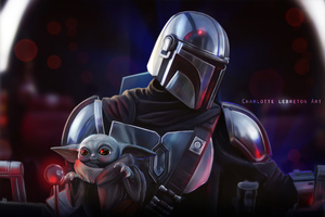 The Mandalorian Tv Series Artwork 4k Wallpaper
