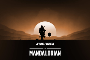 The Mandalorian Yoda 2020 Wallpaper
