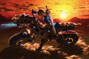 The Master Cycle Zero The Legend Of Zelda Breath Of The Wild 8k Wallpaper