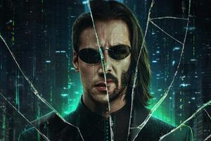 The Matrix Resurrections 2021 4k Wallpaper