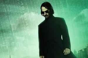 The Matrix Resurrections 4k Wallpaper