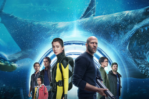 The Meg Movie Latest Poster 5k