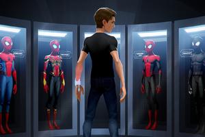 The Next Spider Iron Man Wallpaper