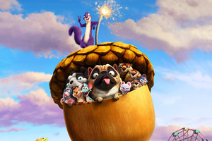 The Nut Job 2 Animated Movie Wallpaper