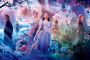 The Nutcracker And The Four Realms 2018 8k