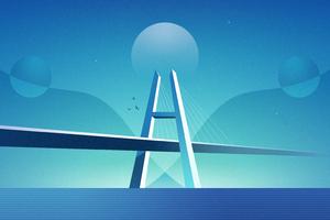 The Overpass Bridge 4k Wallpaper