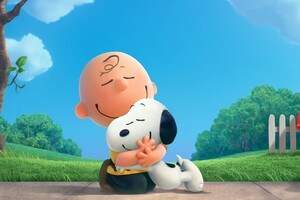 The Peanuts Charlie Brown Snoppy Wallpaper