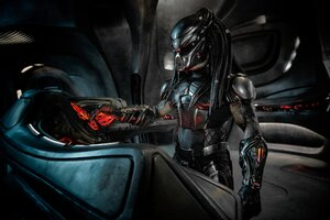 The Predator In His Ship