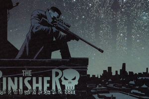 The Punisher 5k Art Wallpaper