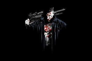 The Punisher Digital Art