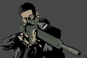 The Punisher Fanart 4k Wallpaper