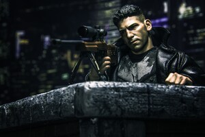 The Punisher Sniper Wallpaper