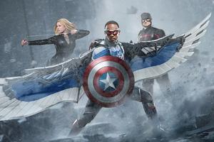 The Return Of Captain America 4k Wallpaper