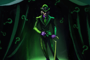 The Riddler 4k 2020 Wallpaper