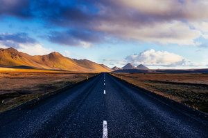 The Ring Road Iceland 4k Wallpaper