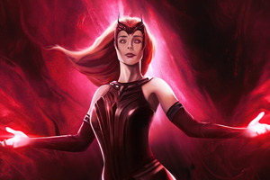 The Scarlet Witch Wallpaper