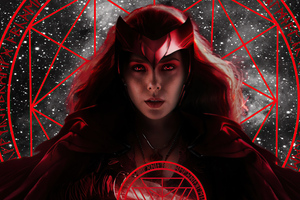 The Scarlet Witch Chakras 4k