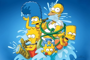 The Simpsons 4k Wallpaper