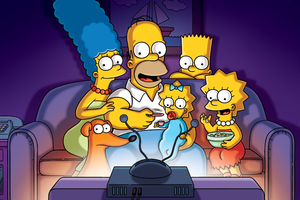 The Simpsons Tv Series 4k Wallpaper