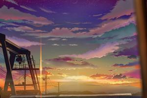 The Sky Clouds Anime