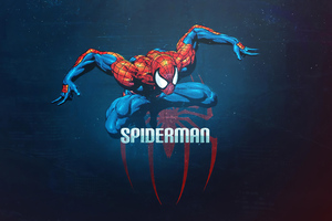 The Spiderman 4k Wallpaper