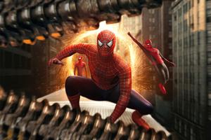The Spiderverse 8k Wallpaper
