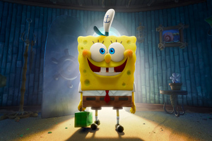 The SpongeBob Movie Sponge On The Run 2020 4k Wallpaper