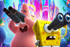 The SpongeBob Movie Sponge On The Run 2020 Wallpaper