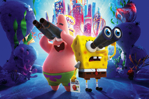 The SpongeBob Movie Sponge On The Run 8k Wallpaper