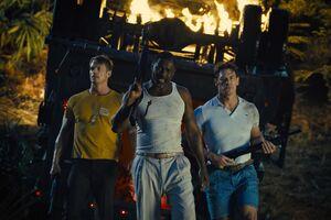 The Suicide Squad Idris Elba Joel Kinnaman John Cena 4k Wallpaper