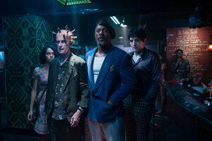 The Suicide Squad Idris Elba Peter Capaldi Wallpaper