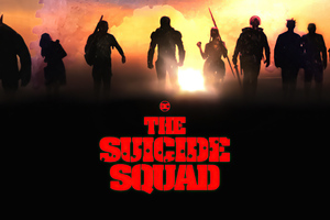 The Suicide Squad Team Wallpaper