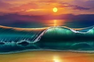 The Sunset Art