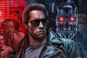 The Terminator 1984 Movie Poster Wallpaper