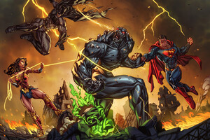The Trinity Defeating Doomsday