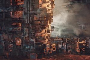 The Underground Slum 4k Wallpaper
