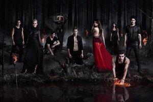 The Vampire Diaries TV Series Wallpaper