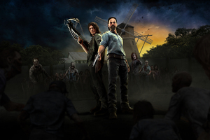 The Walking Dead Onslaught Wallpaper