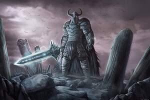 The Warrior God Wallpaper