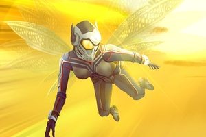 The Wasp Art Wallpaper